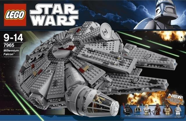 Instructions For Lego Star Wars 7965 Millennium Falcon Instructions